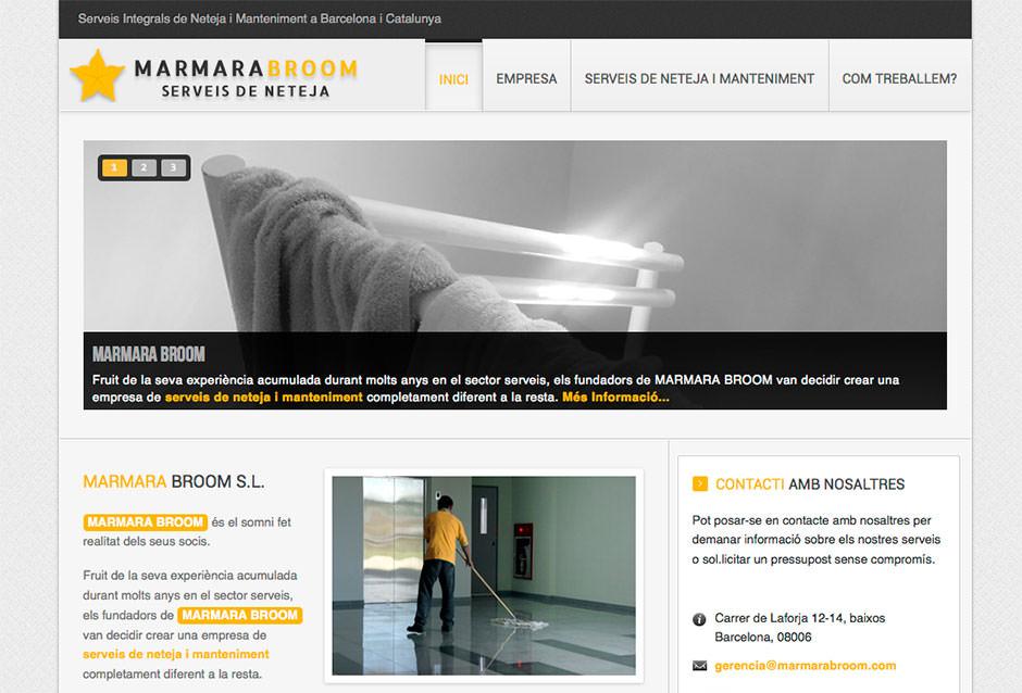 marmara broom limpiezas pagina web eduweb barcelona