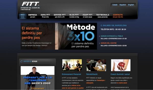 Web de Fitt Studios Barcelona finalizada – Eduweb – Diseño de ... ad6499c80b0