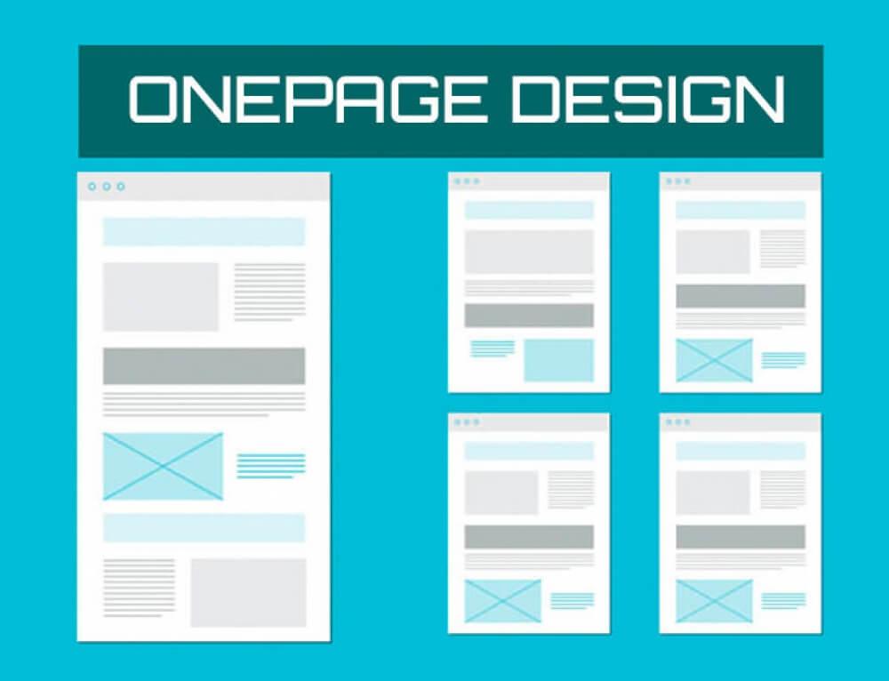 Ventajas y desventajas de hacer un sitio web de una página ONEPAGE o de varias páginas 1