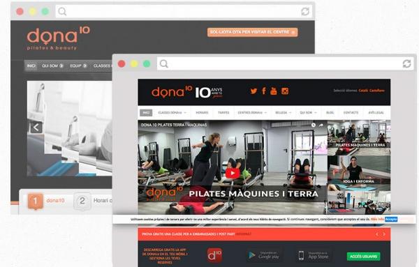 Rediseño página web dona10 – Eduweb – Diseño de páginas web ... ad489ed5654