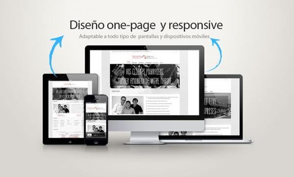 Página web estilo one page para tenzing y g4 arquitectura – Eduweb ... 3443235451e