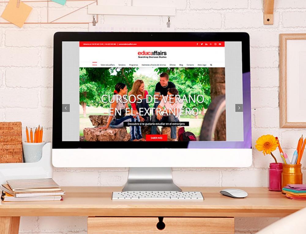 Lanzamos la web de Educaffairs, estudiar idiomas en el extranjero