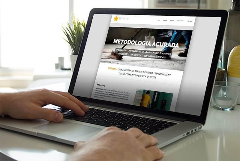 pagina web empresa servicios limpieza