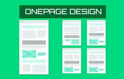 paginas one page ventajas y desventajas eduweb
