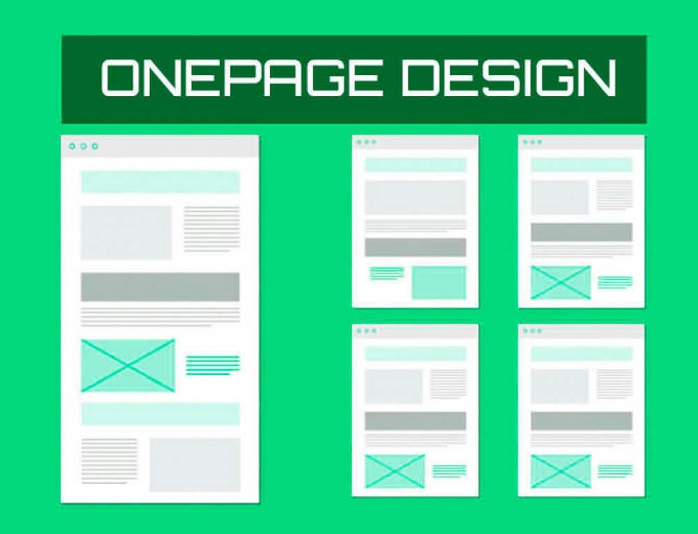 Ventajas y desventajas de hacer un sitio web de una página ONE PAGE o de varias páginas 2