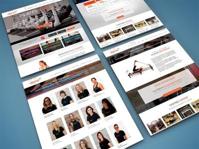 pagina web dona10 pilates barcelona eduweb