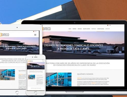 Re diseño de la página web de la constructora  CRDITECO
