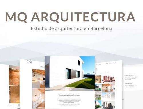 Nueva web para MQ Arquitectura de Barcelona